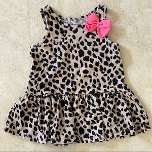 The Childrens Place leopard print dress